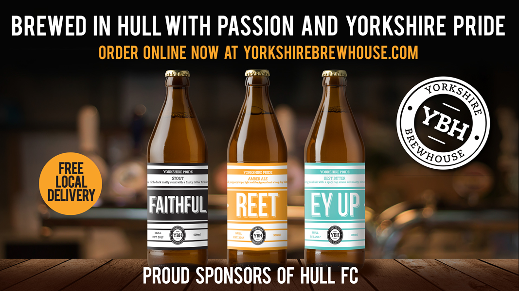 Brewed in Hull with Passion and Yorkshire Pride
